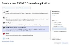 change the default asp net core layout