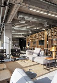 office ceilings. Industrial Office Features Exposed Bricks \u0026 Concrete Ceilings 1 M