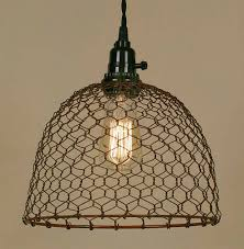 Wire Pendant Light - Baby-Exit for Chicken Wire Pendant Lights (Image 15 of