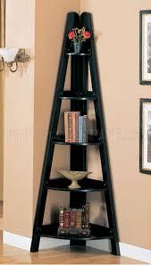 corner furniture pieces. Corner Furniture Pieces Rubbed Black Or Mahogany Finish Modern Shelves O