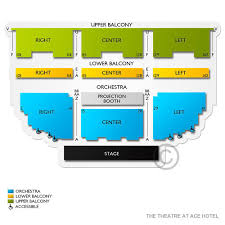 Ace Theater Seating Chart The Theatre At Ace 2019 Seating Chart