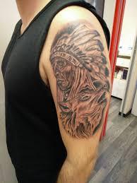 Tatuaggio Realistico Tatuaggio Indiano Tatuaggiit