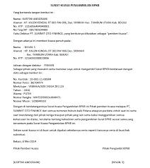 Permohonan penangguhan penahanan surabaya sehubungan proses penahanan atas suami saya tersebut diatas, maka dengan ini saya mohon kepada kepala kejaksaan negeri surabaya c/q kasie. Surat Kuasa Pengambilan Bpkb Surat Tanda Pengikut