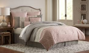 gray and hot pink bedding dusty rose comforter