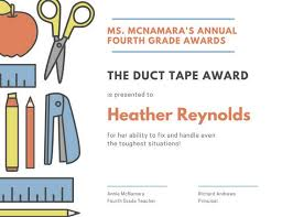 Achievement Awards For Elementary Students Customize 534 Award Certificate Templates Online Canva