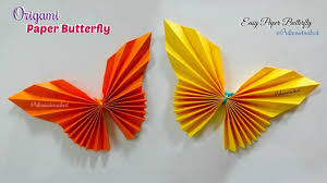 Paper Butterfly How To Make Paper Butterfly Origami