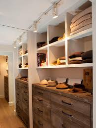 walk in closet lighting. Stunning Walk In Closet Ideas With Wooden Cabinets And Shelves Featuring Led Lights That Ease Lighting