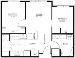 2 Bedroom Apartments With Den At Cotton MillApartments Floor Plans 2 Bedrooms