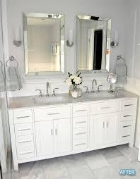 double vanity lighting. Marvelous Bathroom Vanity Mirror Ideas Best About Lighting On Pinterest Double