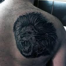 50 Lion Back Tetování Vzory Pro Muže Masculine Big Cat Ink Myšlenky