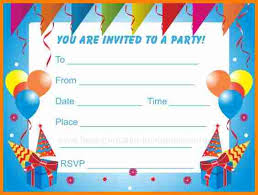 free birthday invitation template for kids birthday invites free printable gse bookbinder co