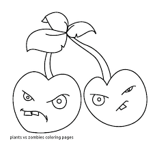 Plants Vs Zombie Coloring Pages Plant Vs Zombie Coloring Pages