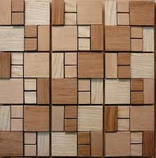 Small Picture Maple Oak wood mosaic wall floor tiles natural wood strip tiles