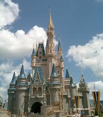 cinderella castle front view
