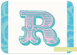 Letter Greetings Cool Letter R Blingbebe Greetings That Shine