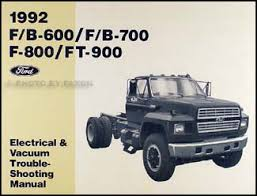 ford medium and heavy duty truck service specifications book 1992 ford f b 600 900 medium heavy truck electrical troubleshooting manual