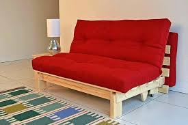 solid wood futon full size futon sofa bed lounger frame unfinished