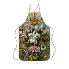 Заказать <b>фартук с полной</b> запечаткой Орхидеи (Orchideae, Ernst ...