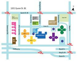 2012 camh queen street site map image courtesy centre for addiction and mental health archives