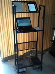 standing workstation inexpensive yet delightfully practical