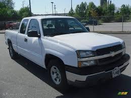 2003 Summit White Chevrolet Silverado 1500 Extended Cab #29404774 ...