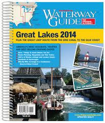 Great Loop Charts Waterway Guide Great Lakes 2014 Plus The Great Loop Route