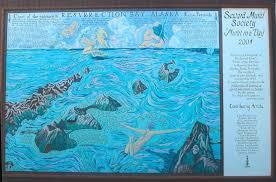 Resurrection Bay Chart Seward Mural Society