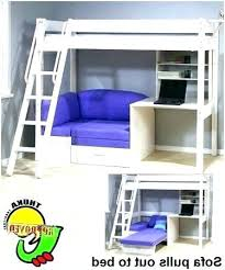 bunk bed with desk and couch. Couch Bunk Beds Convertible Bed With Sofa Fascinating Desk And .