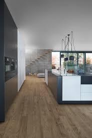 Schwarze Designer Küche Moderne Küche im skandinavischen Stil