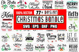 Holiday posters, banners, cards and much more, all ready to download in jpg and svg. 77 Christmas And New Year Svg Designs Graphic By Svg In Design Creative Fabrica