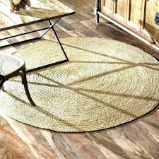 O Round Jute Rug 8 Small Size Of Natural Rugs Thick 8x10 Amazon