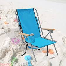 Amazon.com : High Back Steel Backpack Beach Chair by WearEver ...