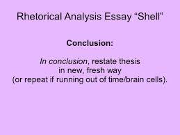 rhetorical analysis essay ldquo shell rdquo ppt video online rhetorical analysis essay shell