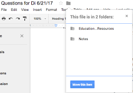 How to view the parent folder of a Google Document? - Web ...