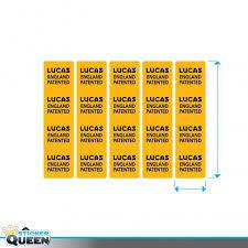 wiring loom labels explore wiring diagram on the net • autosticker label lucas bedrading sticker queen wiring loom joystick automotive wire loom