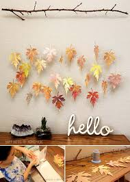 1 craft paper leaves for your fall decor