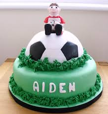 Football Birthday Cake Cakecentralcom