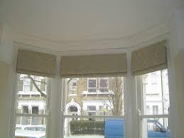 bay window blinds. Roman Blinds For Bay Windows Window