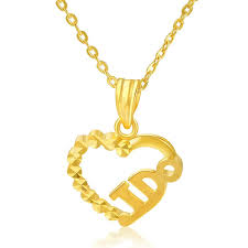 new pure 999 24k yellow gold pendant women bless i do pendant 1 3 1 6g