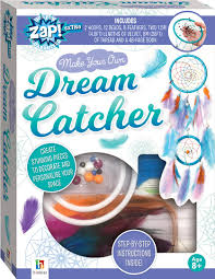 Dream Catcher Patterns Step By Step Zap Extra Make Your Own Dream Catcher Activity Kits Games 99