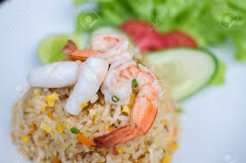 Seafood Fried Rice Is Thai Style Food ...