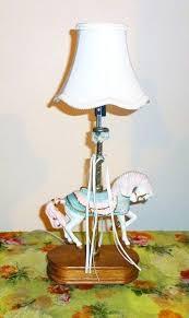 carousel horse lamp carousel horse lamp by on flea market flip carousel horse lamp