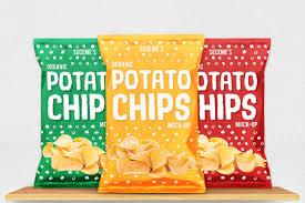 Design Your Own Potato Chip Bag 30 Crispy Chips Packaging Mockups Decolore Net