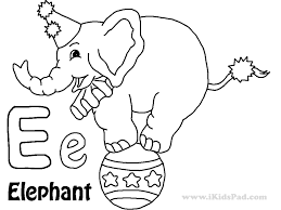 Free E Coloring Pages: Free pink letter e coloring pages.