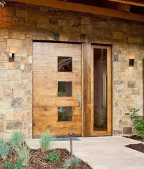 28 beautiful glass front doors for your entry shelterness modern wooden entry door