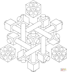 Small Picture Optical Illusion 27 coloring page Free Printable Coloring Pages