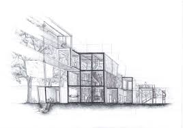architecture blueprints wallpaper. Architecture Process Drawing By A-Chard Blueprints Wallpaper G
