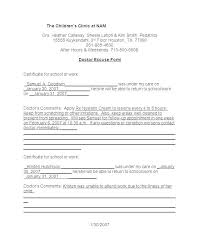 Kaiser Doctors Excuse Note Fake Doctors Note Kaiser Solacademy Co
