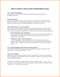 scholarship essay winning resume formt cover letter examples sample scholarship essay