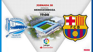 Deportivo alavés video highlights are collected in the media tab for the most popular matches as soon as video appear on video hosting sites like youtube or dailymotion. Alaves Vs Barcelona Alaves Vs Barcelona Historic Pichichi At Stake For Messi Marca In English